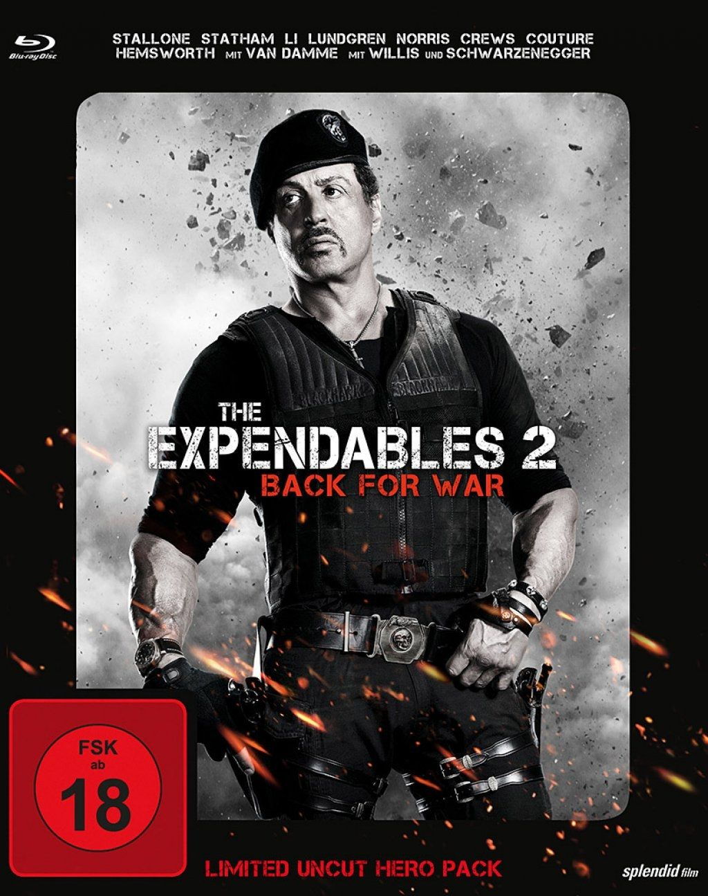 Expendables 2, The (Limited Uncut Hero Pack) (BLURAY)