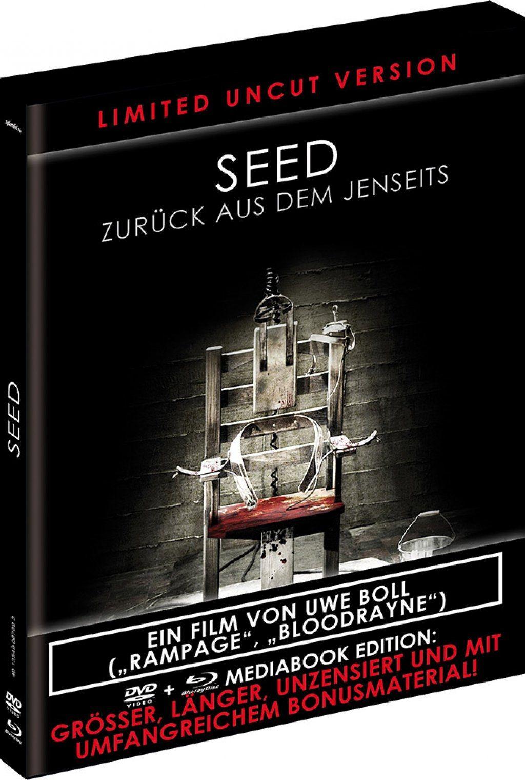 Seed - Zurück aus dem Jenseits (Uncut) (Black Book Edition) (DVD + BLURAY)