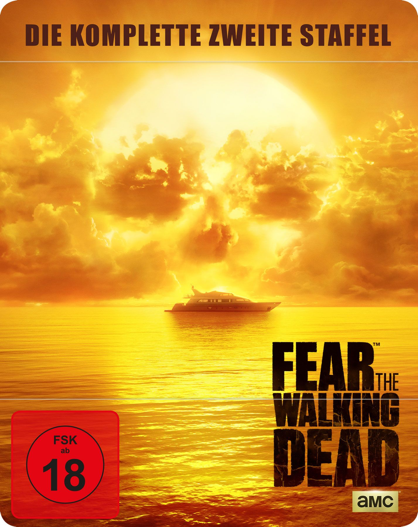 Fear the Walking Dead - Season 2 (Uncut) (Lim. Steelbook) (4 Discs) (BLURAY)