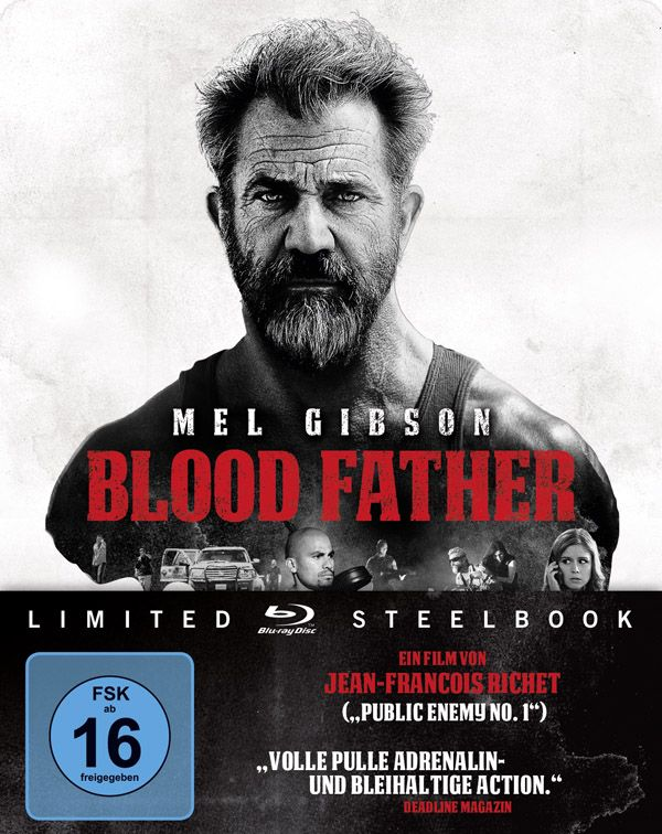 Blood Father (Lim. Steelbook) (BLURAY)