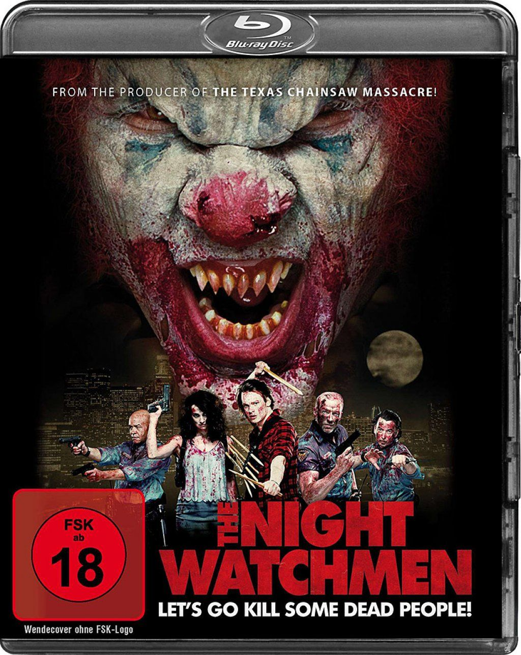 Night Watchmen, The - Let's go kill some dead People! (BLURAY)