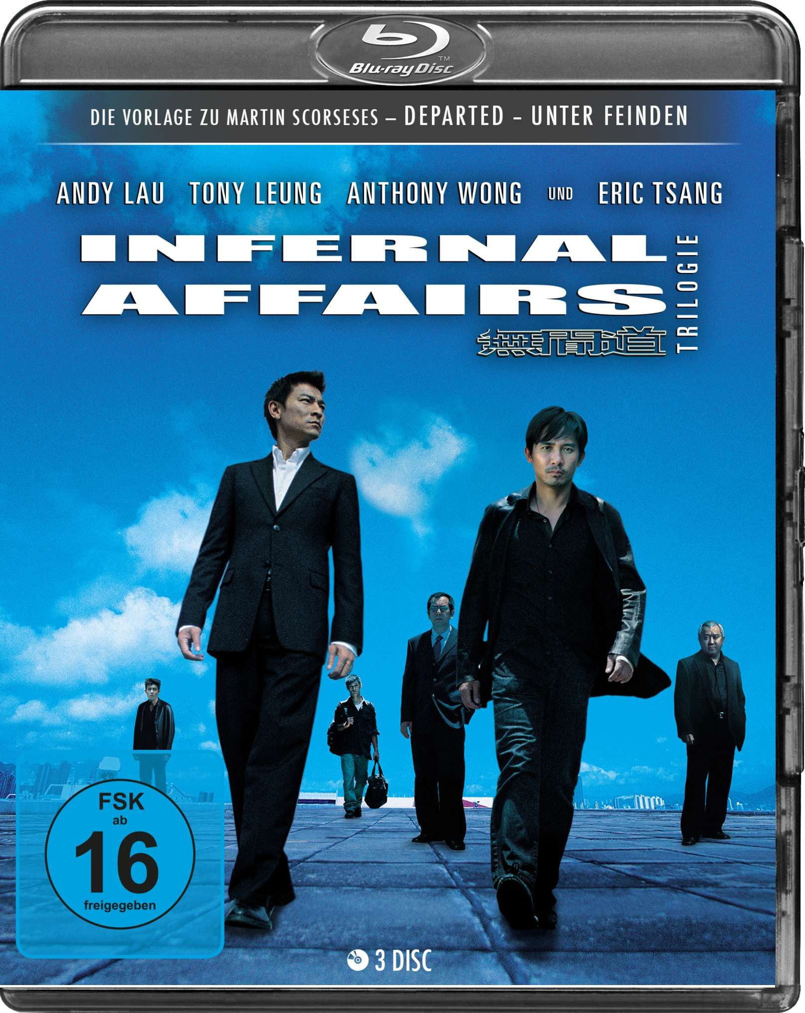 Infernal Affairs Trilogie (3 Discs) (BLURAY)