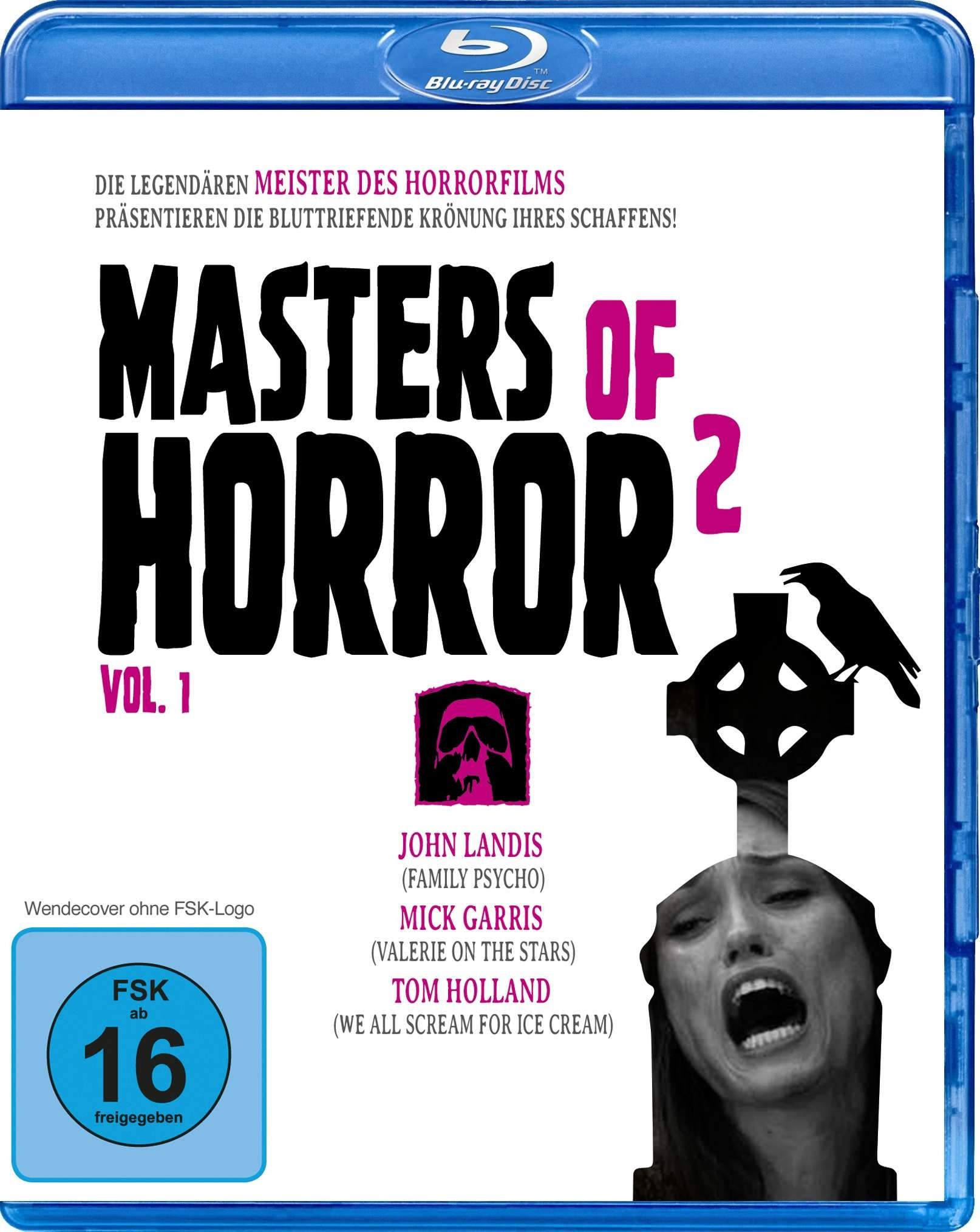 Masters of Horror 2 Vol. 1: Family Psycho / Valerie on the Stairs / We all scream for Ice Cream (BLURAY)