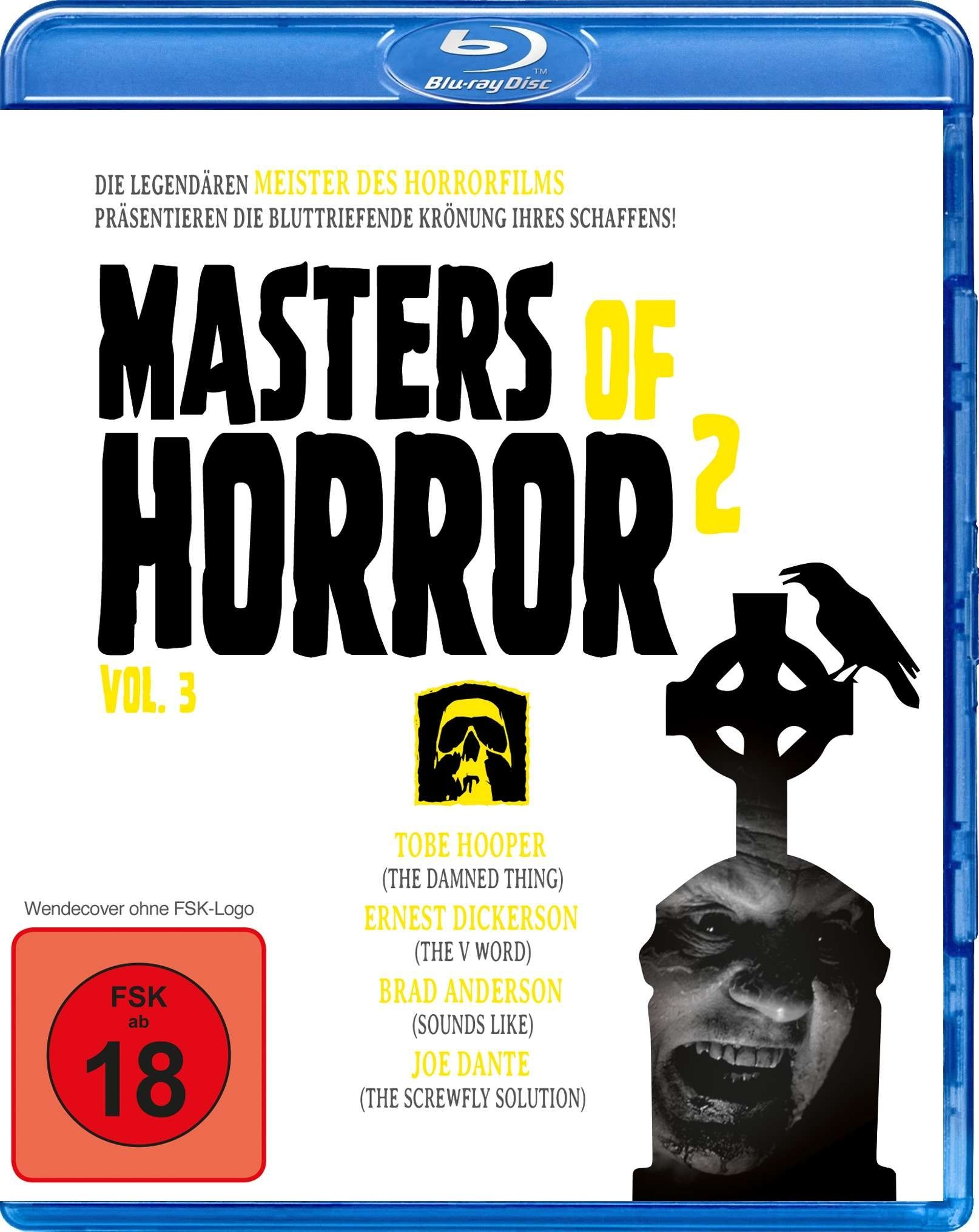 Masters of Horror 2 Vol. 3: The Damned Thing / The V Word / Sounds Like / The Screwfly Solution (BLURAY)