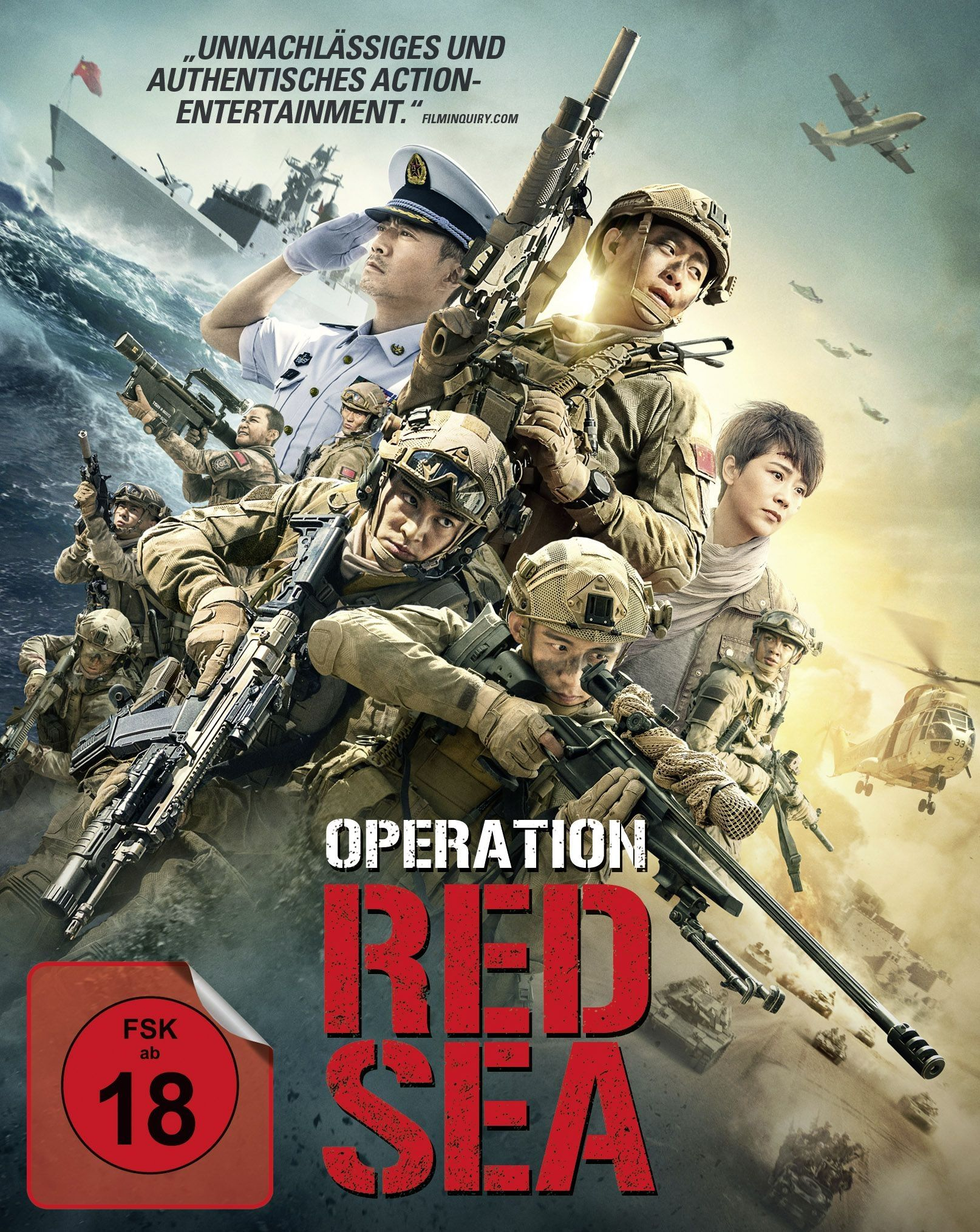 Operation Red Sea (BLURAY)
