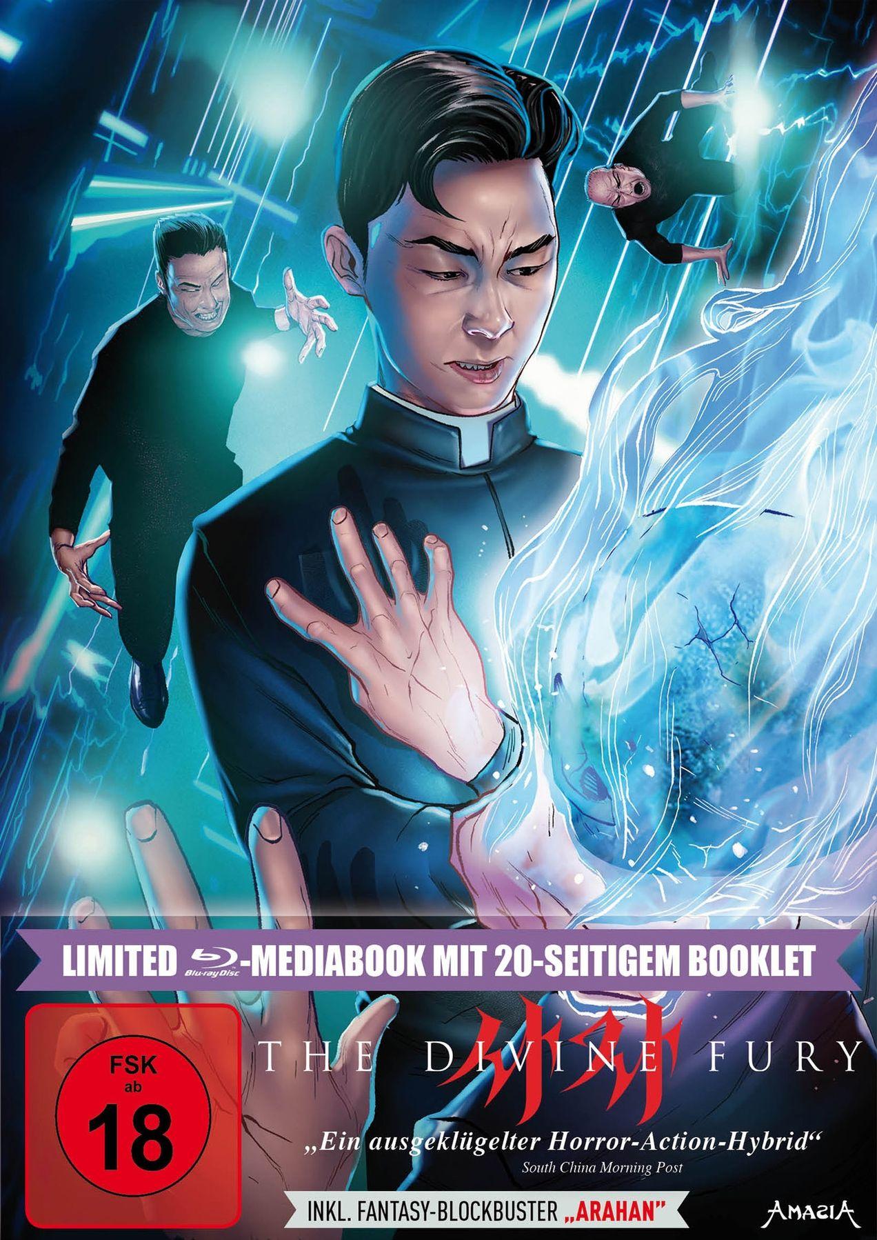 Divine Fury, The (Lim. Uncut Mediabook) (2 Discs) (BLURAY)