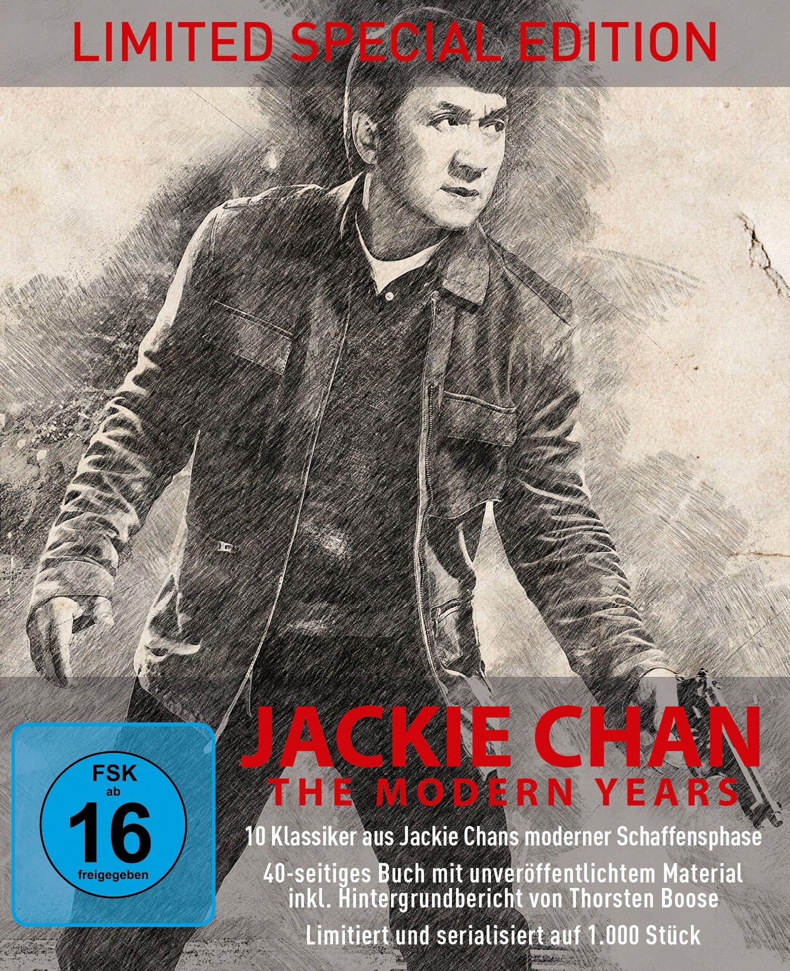 Jackie Chan - The Modern Years (Lim. DigiPak) (10 Discs) (BLURAY)