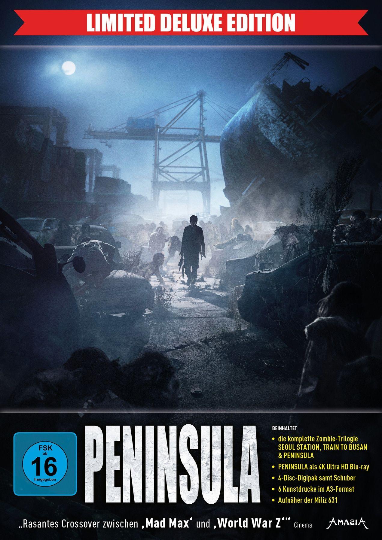 Peninsula (Lim. Deluxe Edition) (4 Discs) (UHD BLURAY + BLURAY)