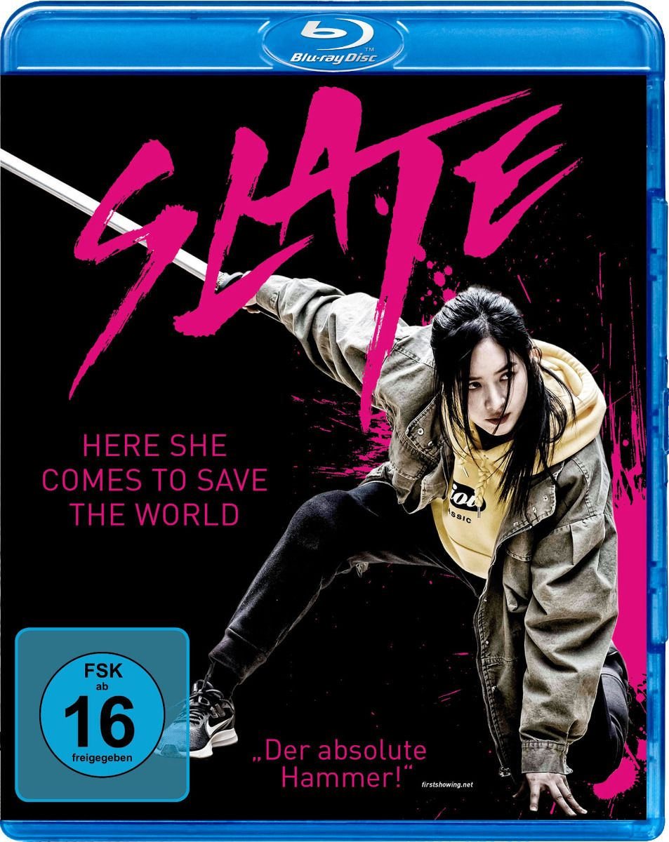 Slate - Here She Comes to Save the World (BLURAY)