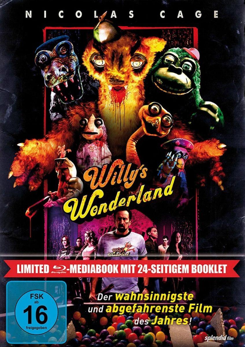 Willy's Wonderland (Lim. Uncut Mediabook) (BLURAY)