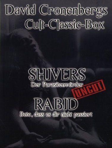 Shivers - Der Parasitenmörder / Rabid - Der brüllende Tod (David Cronenberg Cult Classics Box) (2 Discs)