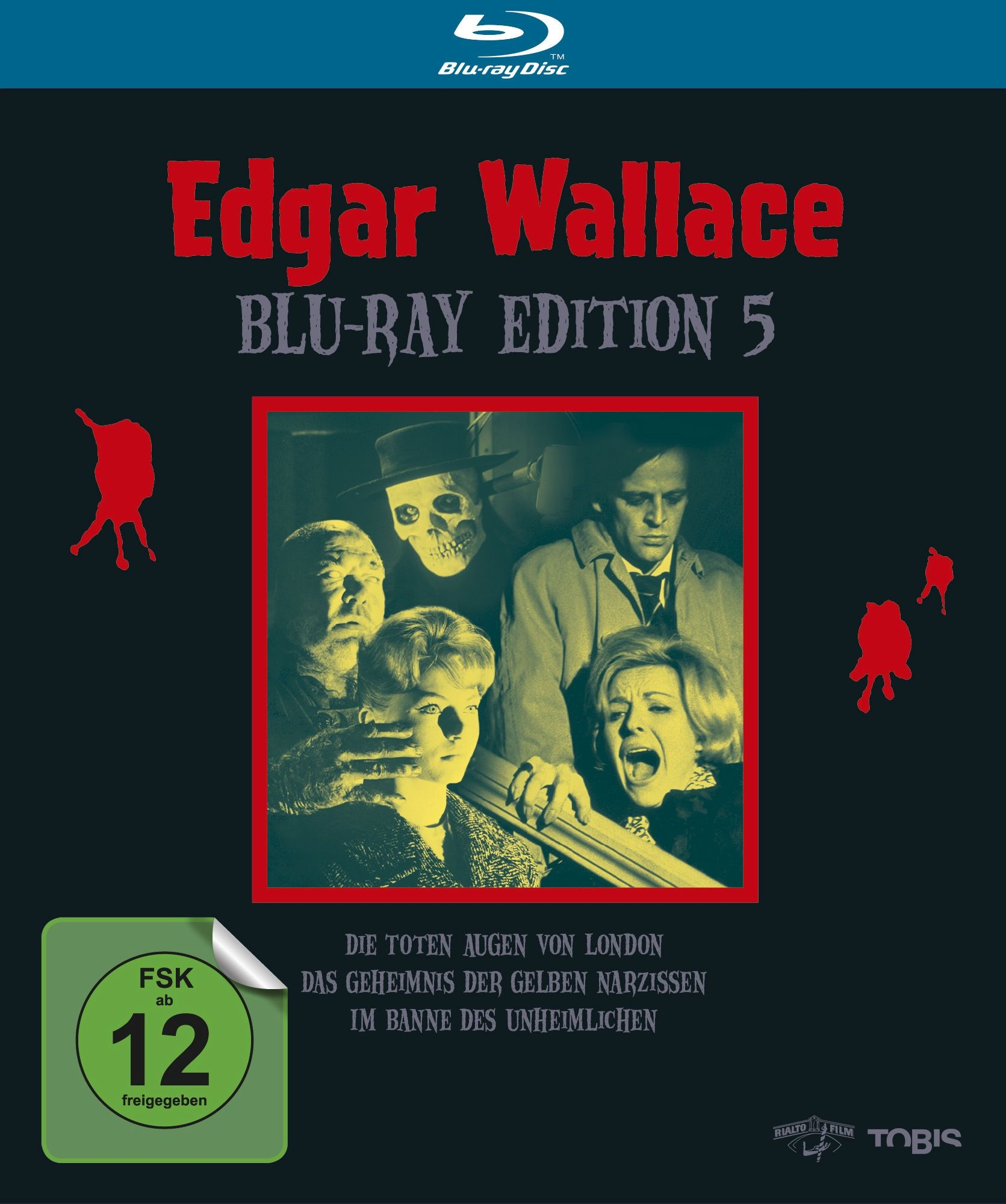 Edgar Wallace - Edition 5 (3 Discs) (BLURAY)