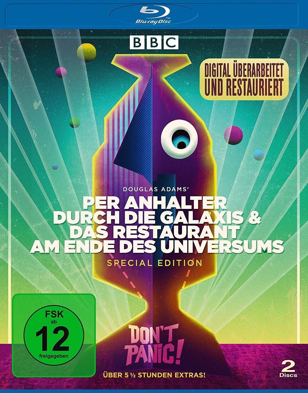 Per Anhalter durch die Galaxis & Das Restaurant am Ende des Universums (Digital Remastered) (2 Discs) (BLURAY)