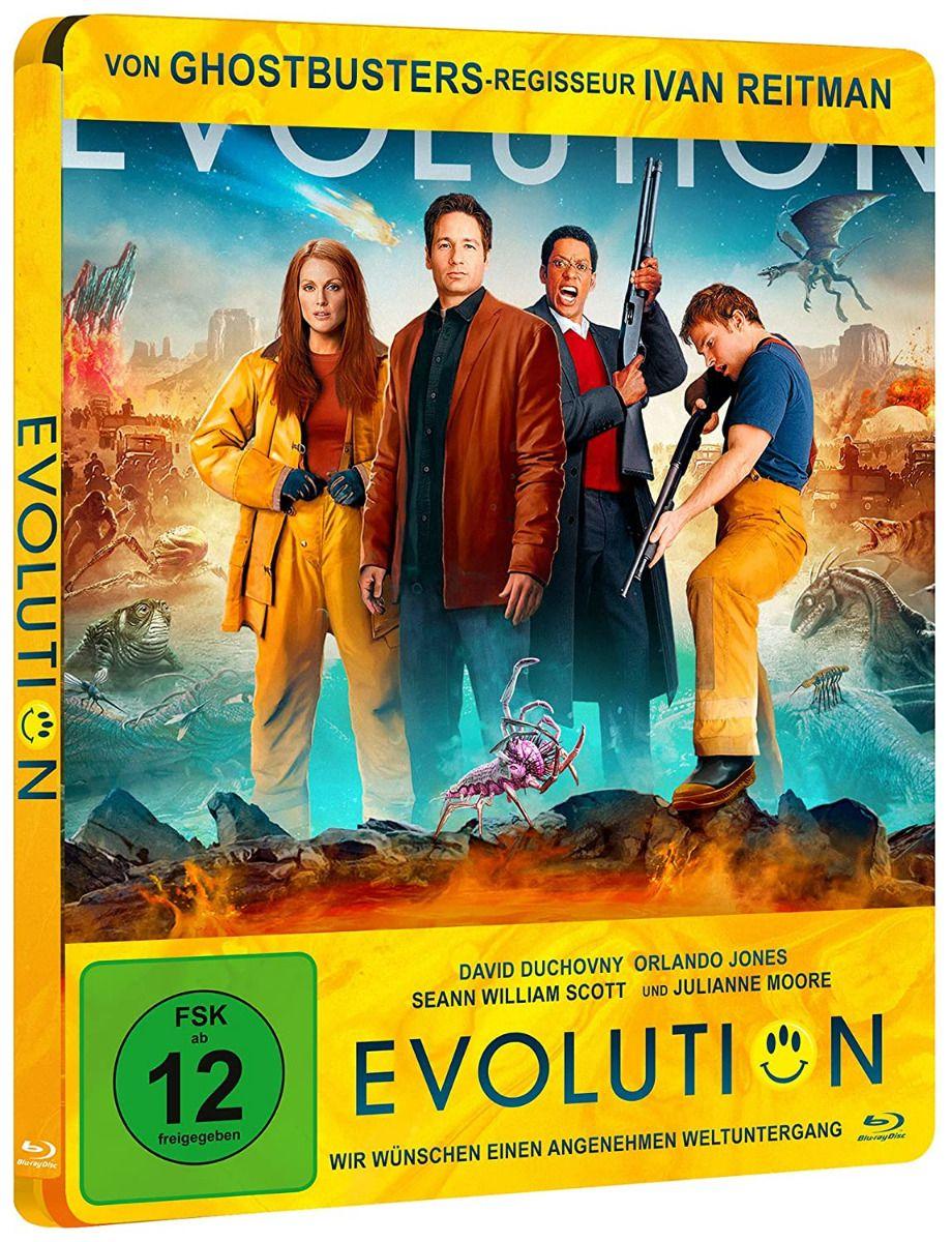 Evolution (Lim. Steelbook) (BLURAY)