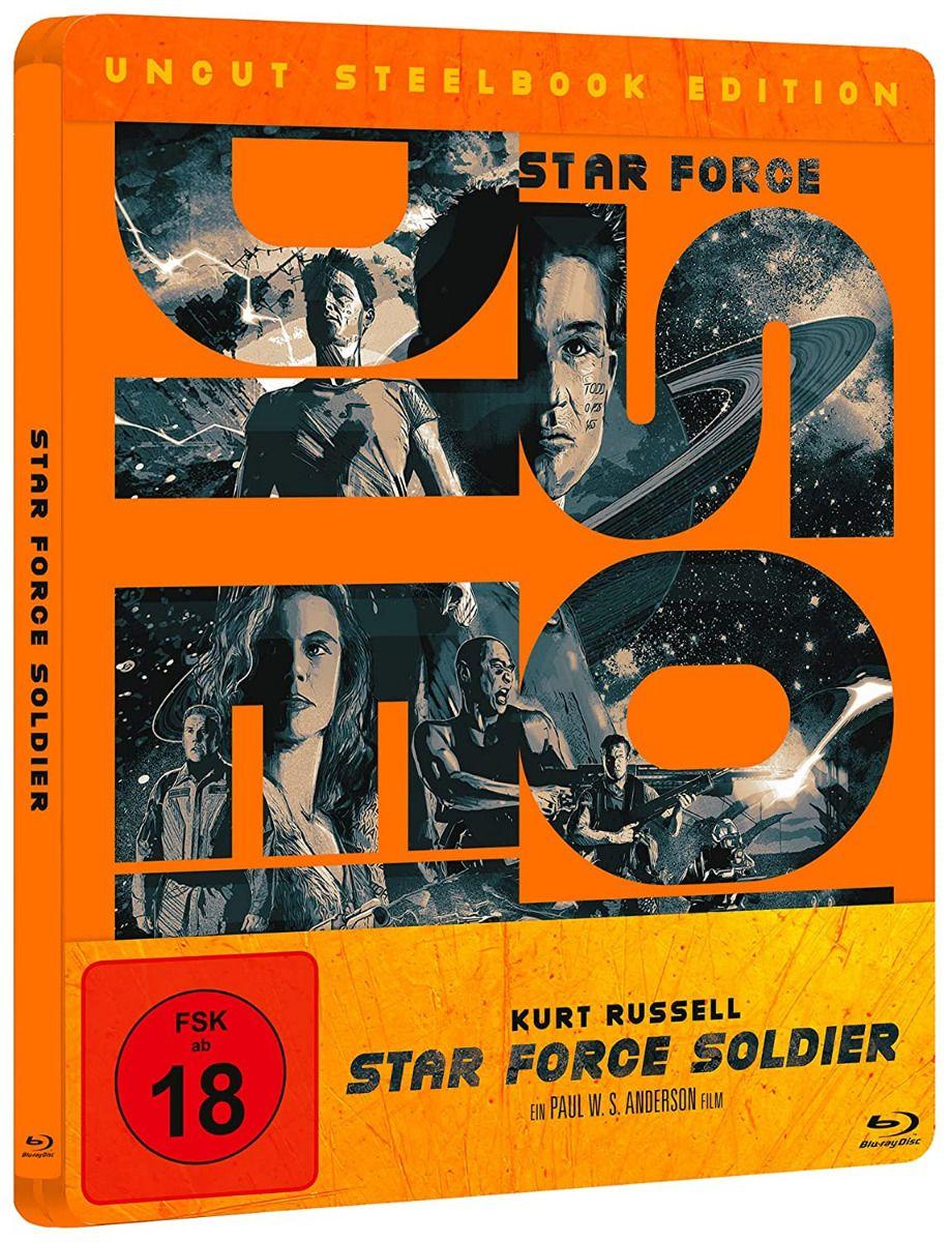 Star Force Soldier (Lim. Steelbook) (BLURAY)