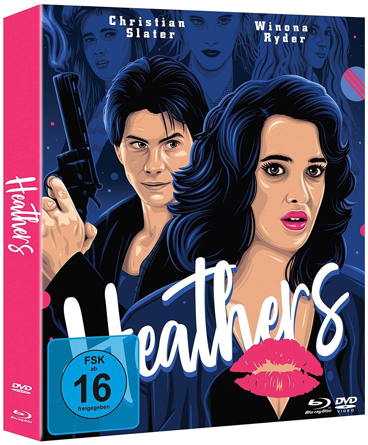 Heathers (Lim. Uncut Mediabook) (2 DVD + BLURAY)