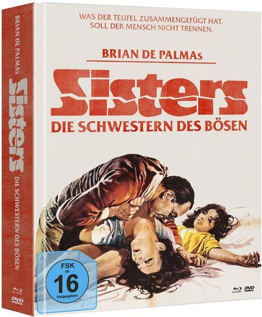 Sisters - Die Schwestern des Bösen (Lim. Uncut Mediabook) (2 DVD + BLURAY)