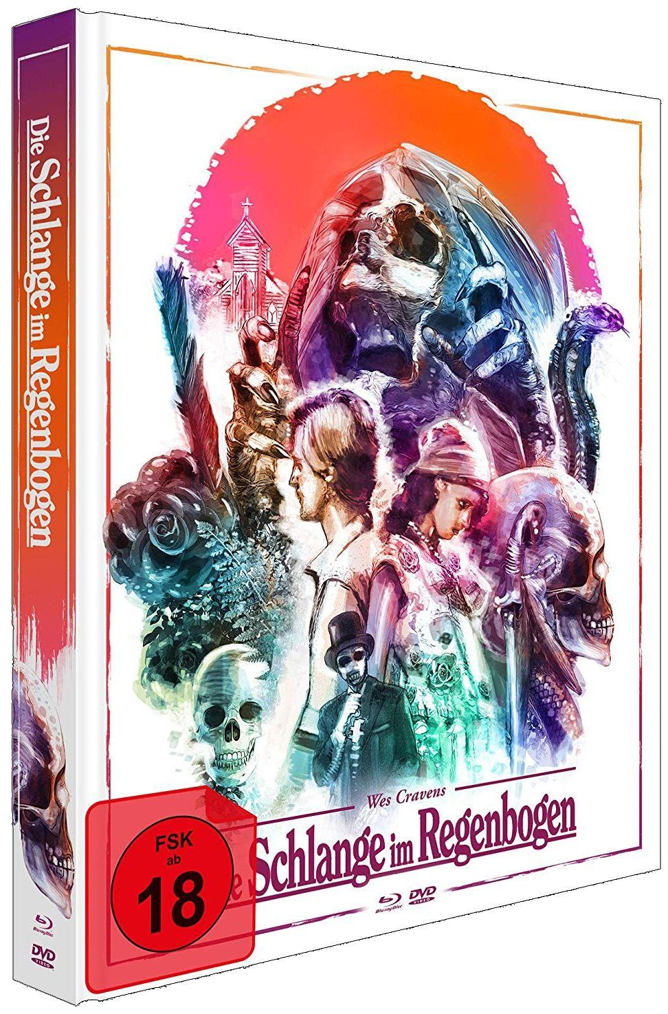 Schlange im Regenbogen, Die (Lim. Uncut Mediabook) (2 DVD + BLURAY)