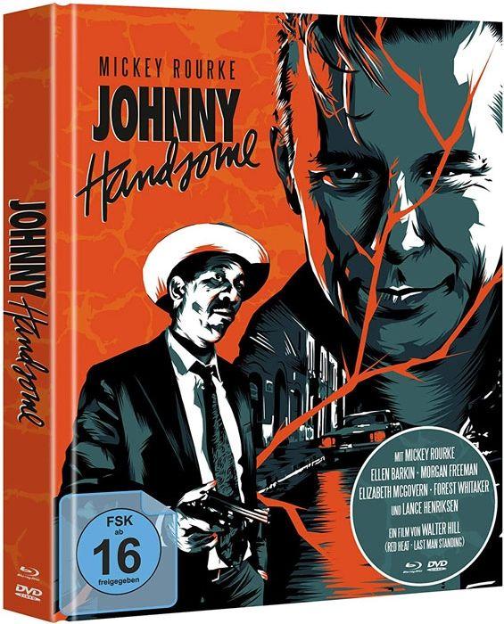 Johnny Handsome - Der schöne Johnny (Lim. Uncut Mediabook) (DVD + 2 BLURAY)