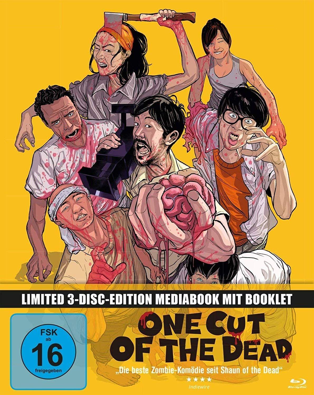 One Cut of the Dead (Lim. Uncut Mediabook) (2 DVD + BLURAY)