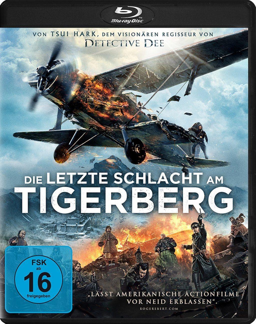 Letzte Schlacht am Tigerberg, Die (BLURAY)