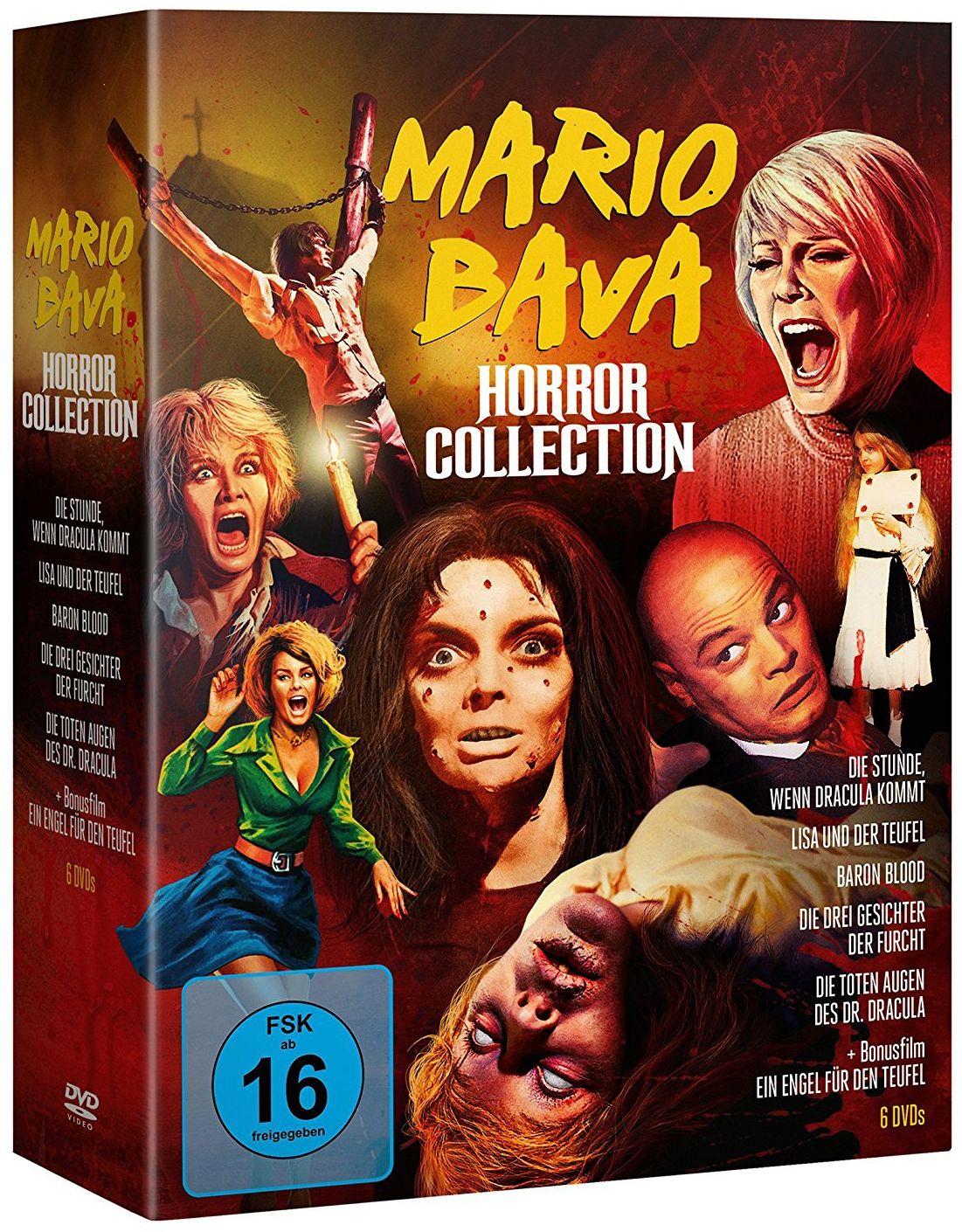 Mario Bava Horror Collection (6 Discs)