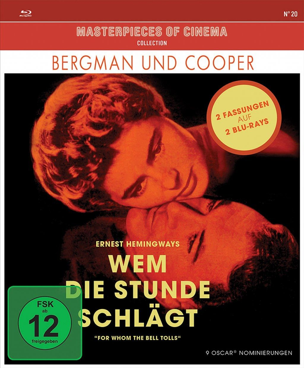Wem die Stunde schlägt (Masterpieces of Cinema) (2 Discs) (BLURAY)