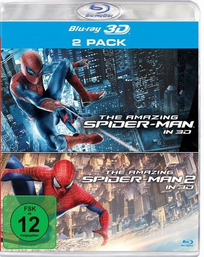 Amazing Spider-Man 1 + 2 3D, The (4 Discs) (BLURAY + BLURAY 3D)