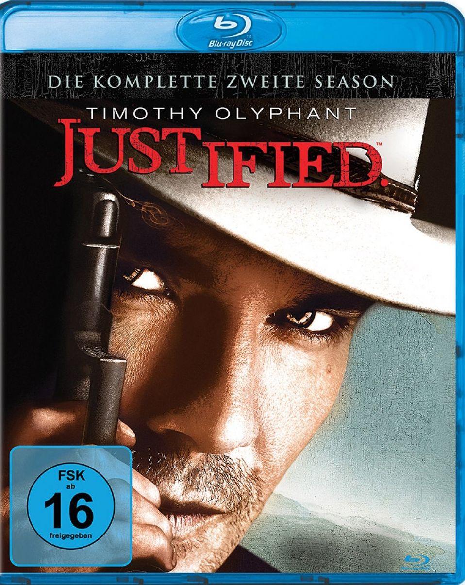 Justified - Die komplette zweite Season (3 Discs) (BLURAY)