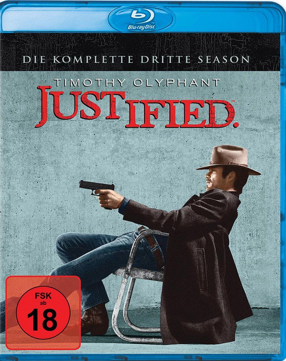Justified - Die komplette dritte Season (3 Discs) (BLURAY)