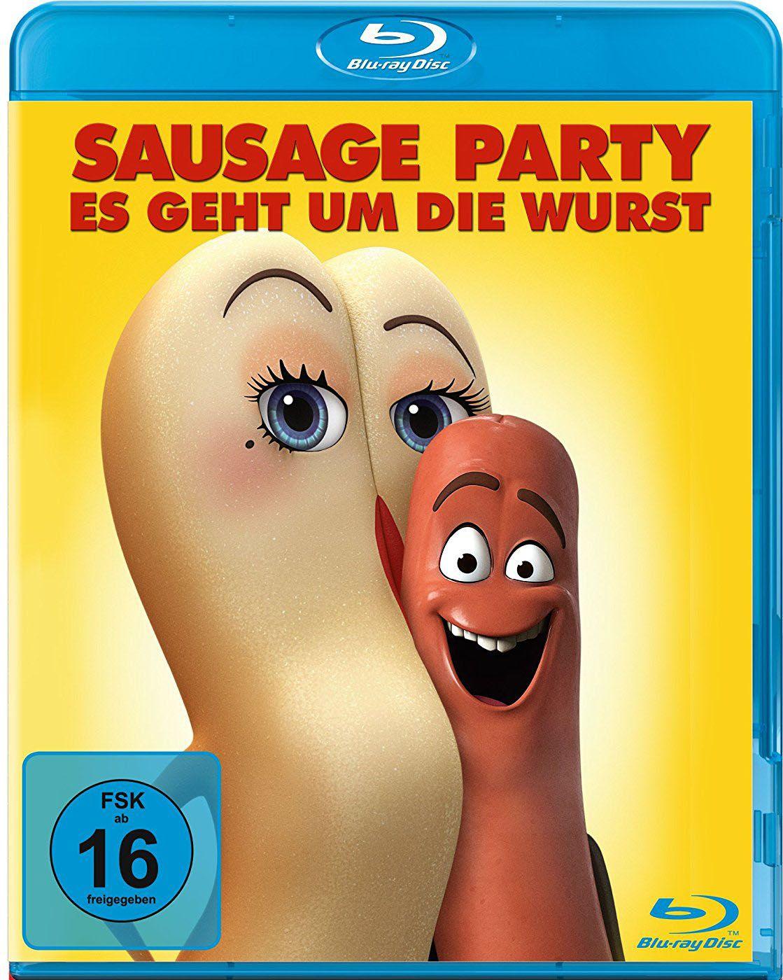 Sausage Party - Es geht um die Wurst (BLURAY)
