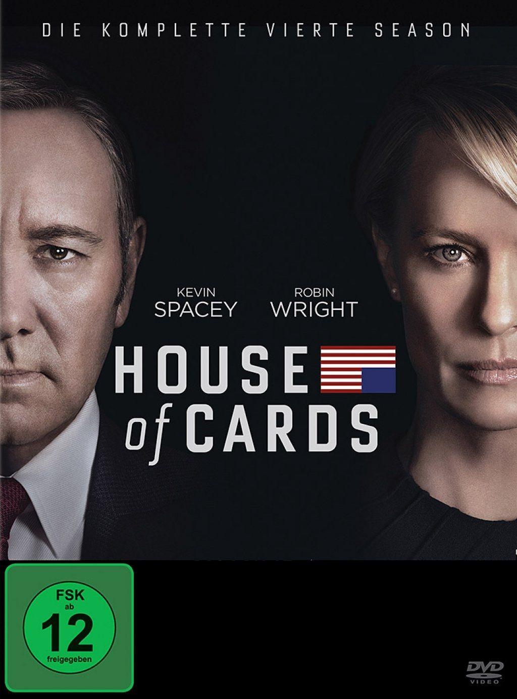 House of Cards - Die komplette vierte Season (2013) (4 Discs)