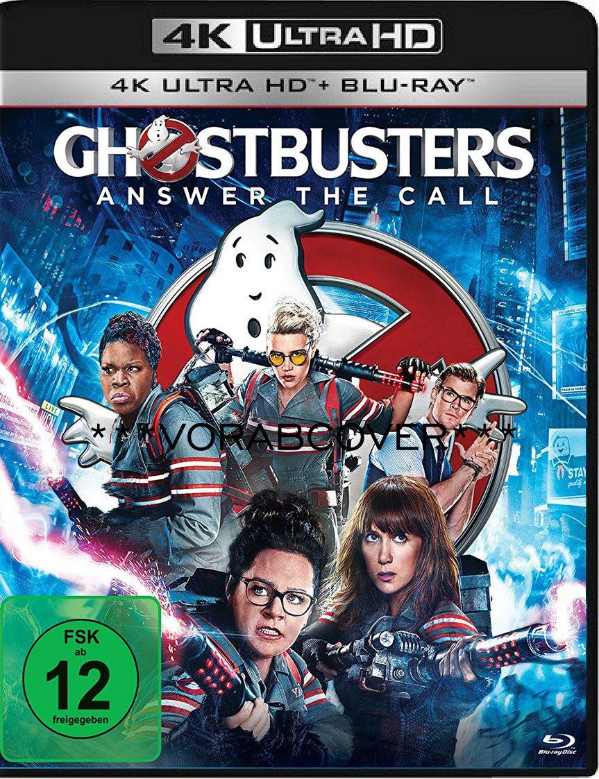 Ghostbusters (2016) (2 Discs) (UHD BLURAY + BLURAY)