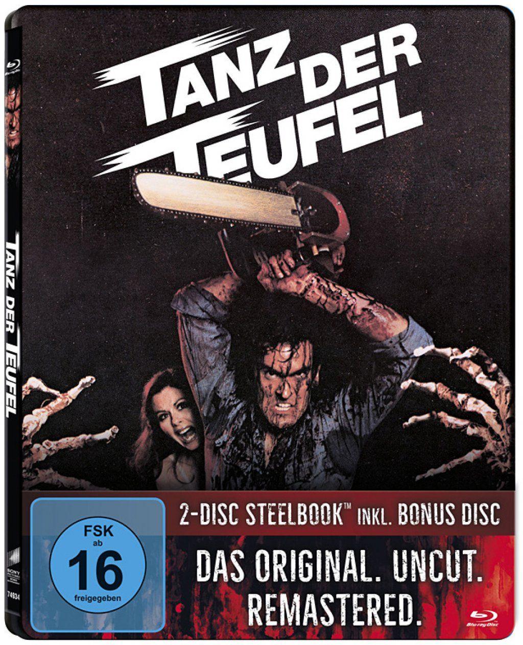 Tanz der Teufel (Uncut) (Lim. Steelbook) (2 Discs) (BLURAY)