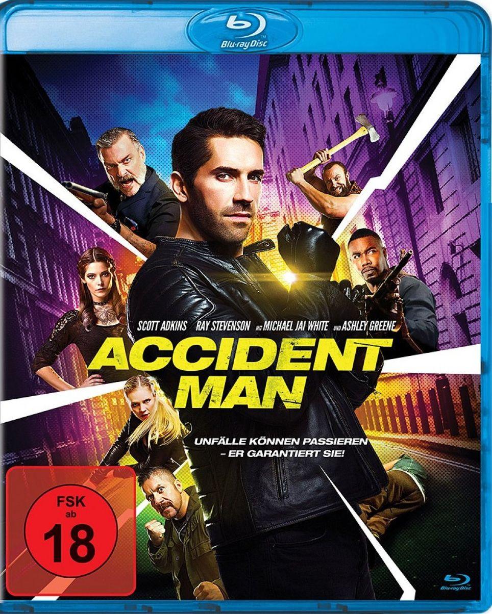 Accident Man (BLURAY)