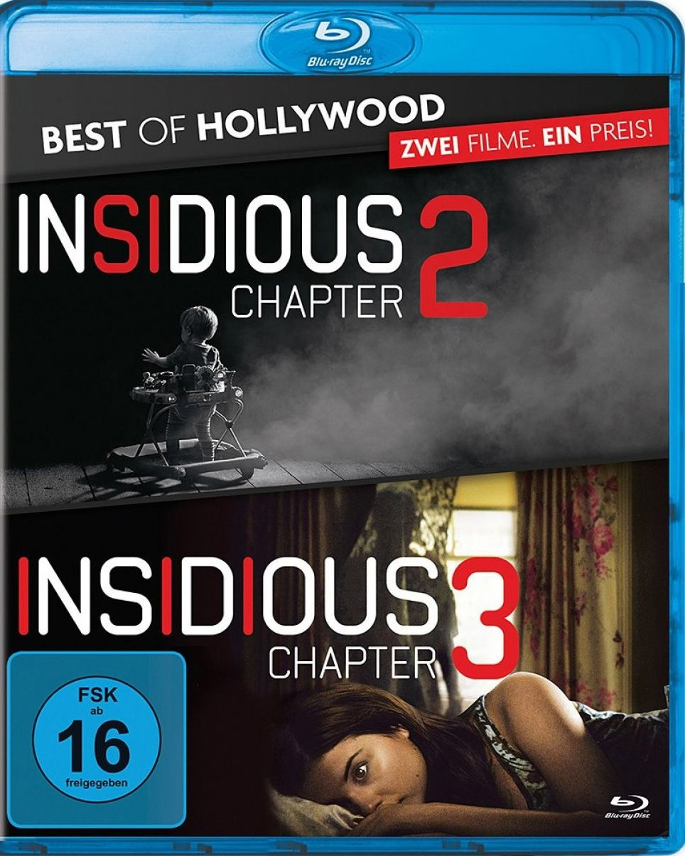 Insidious: Chapter 2 / Insidious: Chapter 3 (Double Feature) (2 Discs) (BLURAY)