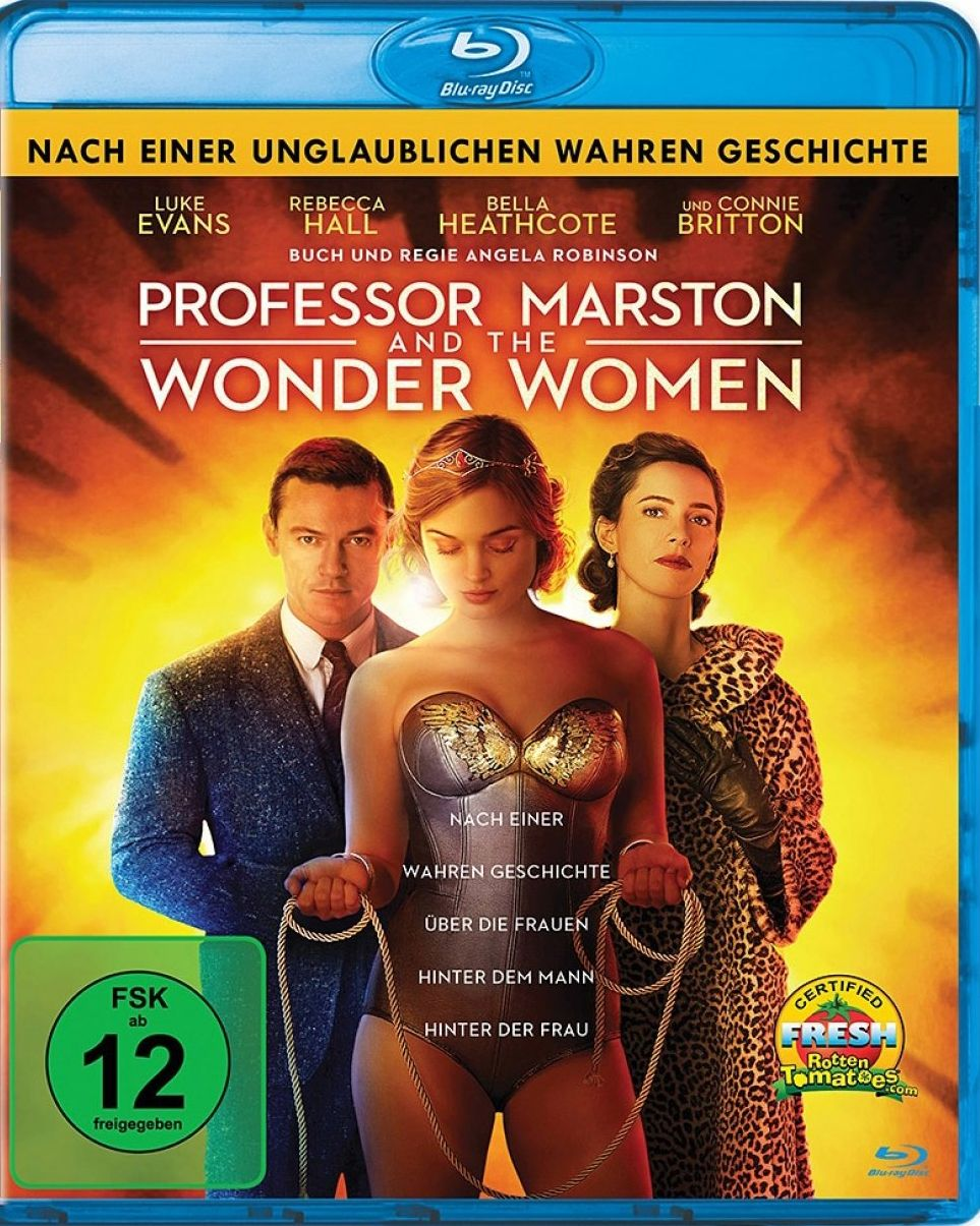 Professor Marston & The Wonder Women (BLURAY)