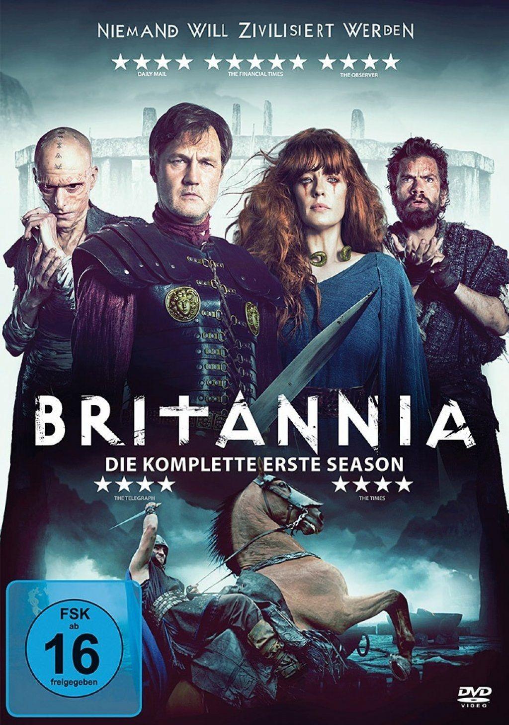 Britannia - Niemand will zivilisiert werden - Staffel 1 (3 Discs)
