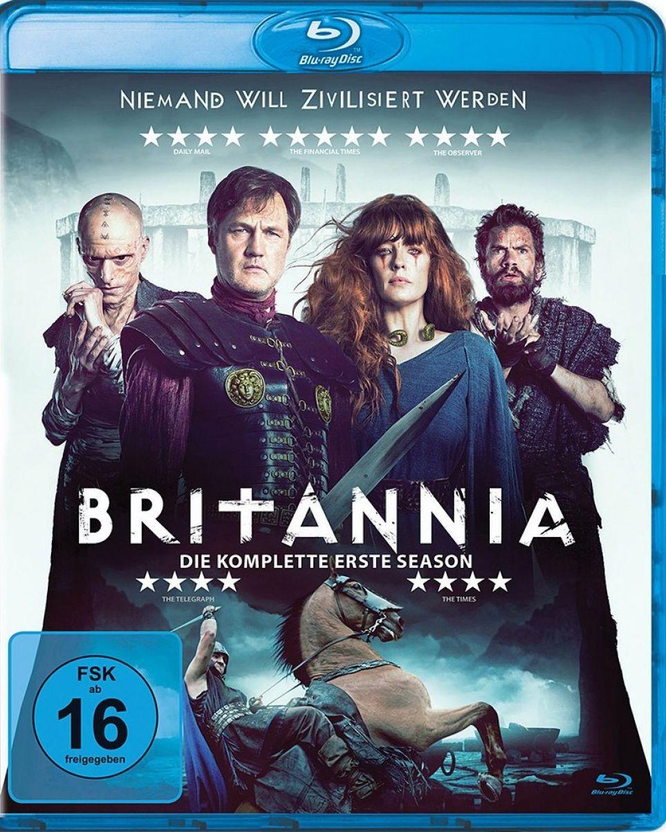 Britannia - Niemand will zivilisiert werden - Staffel 1 (3 Discs) (BLURAY)