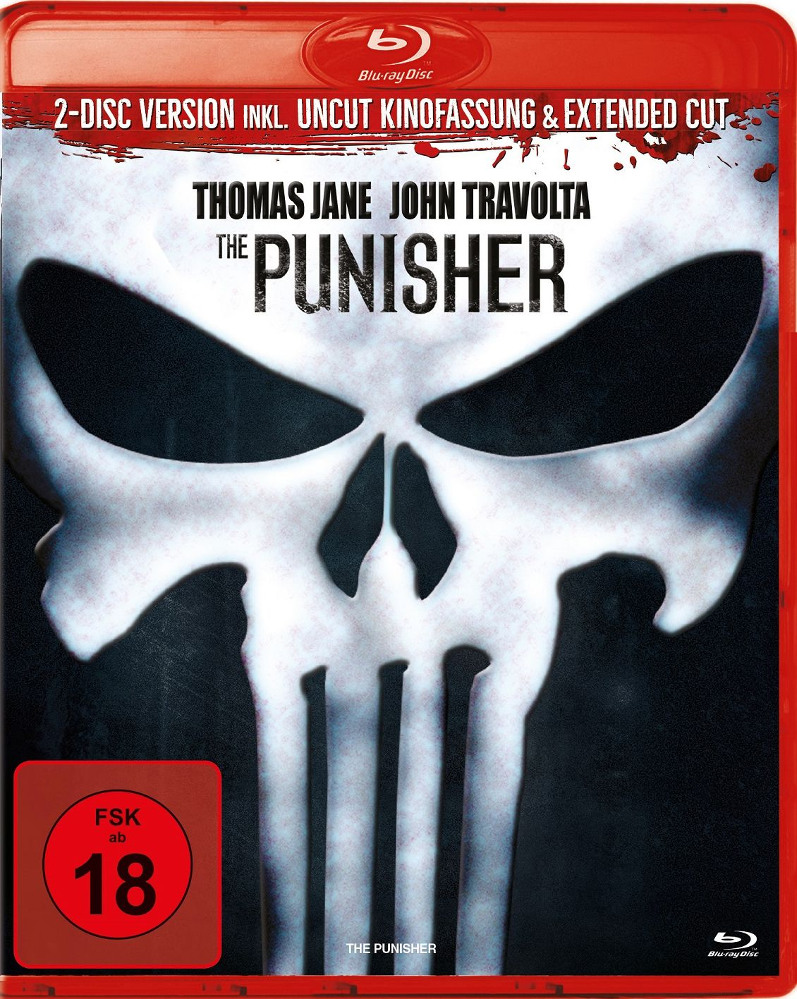 Punisher, The (2004) (Uncut Kinofassung + Extended Cut) (2 Discs) (BLURAY)