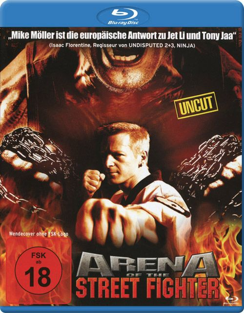 Arena of the Street Fighter (BLURAY)