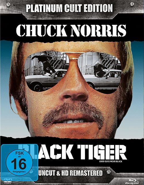 Black Tiger (Platinum Cult Ed.) (DVD + BLURAY)