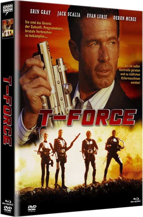 T-Force (2-Disc Lim. Uncut Mediabook - Cover A) (DVD + BLURAY)
