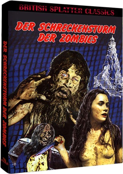 Turm der lebenden Leichen (Lim. Uncut Mediabook - Cover B) (DVD + BLURAY)