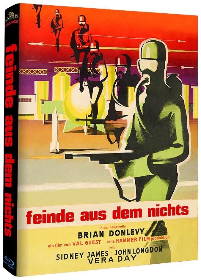 Feinde aus dem Nichts (Lim. Uncut Mediabook - Cover C) (BLURAY)