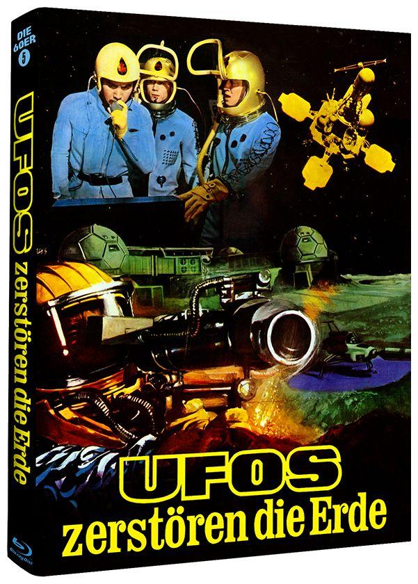 Ufos zerstören die Erde (Lim. Uncut Mediabook - Cover A) (BLURAY)