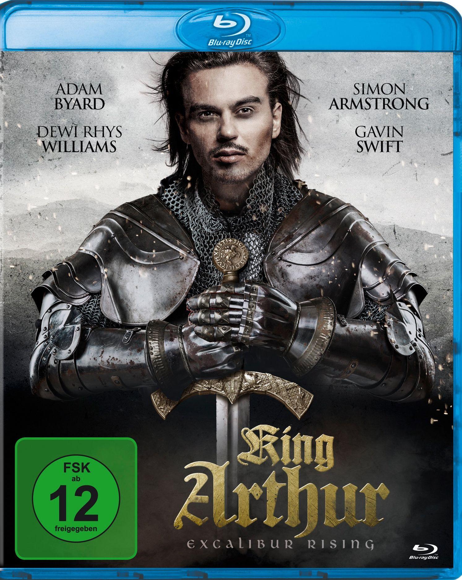 King Arthur - Excalibur Rising (BLURAY)