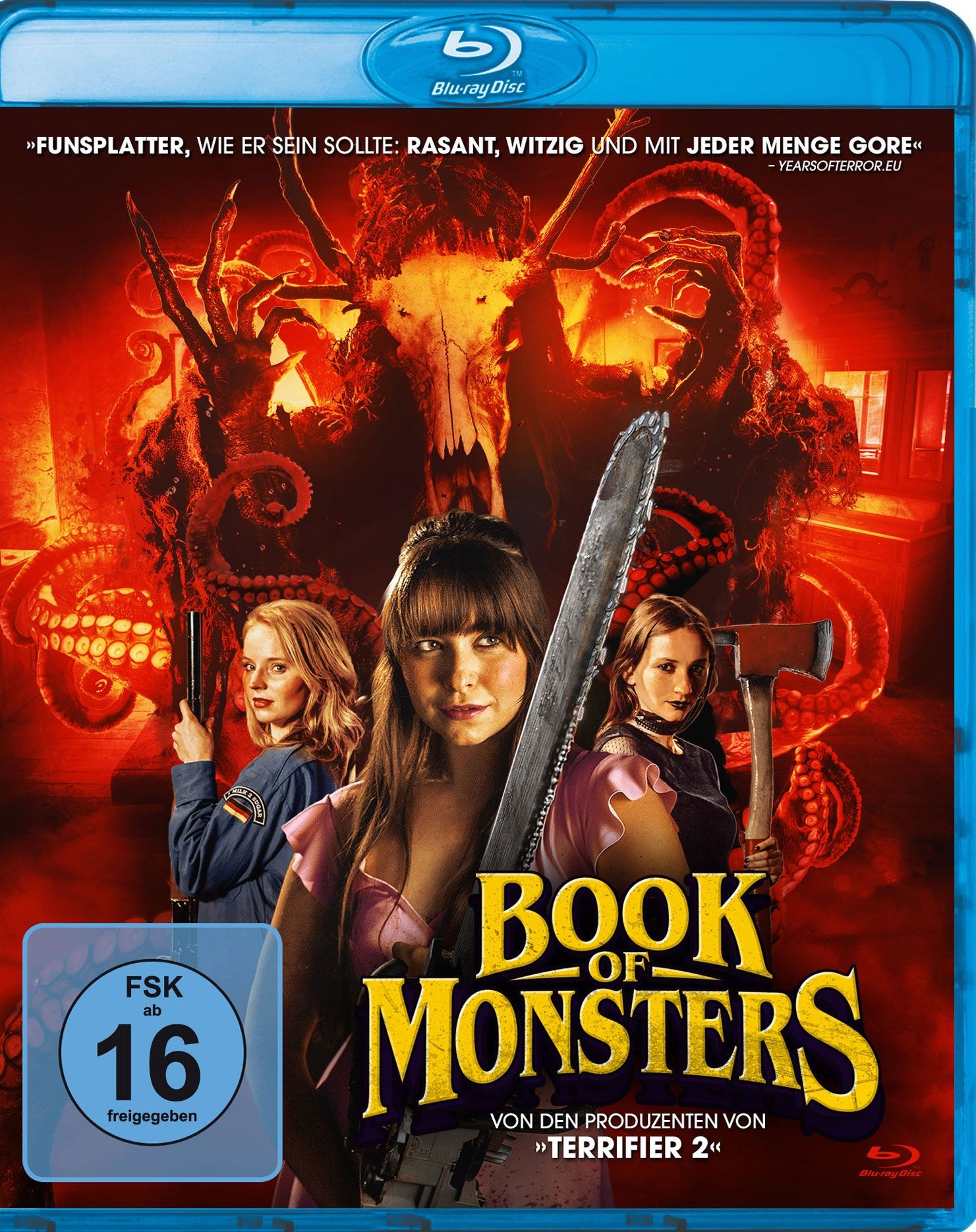 Book of Monsters (BLURAY)