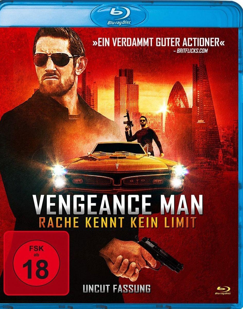 Vengeance Man - Rache kennt kein Limit (BLURAY)