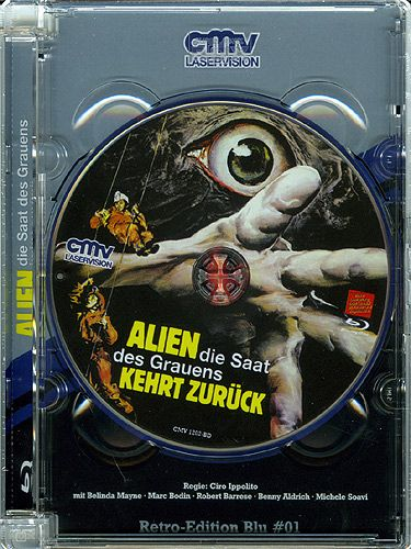 Alien - Die Saat des Grauens kehrt zurück (Lim. Super Jewel Case) (BLURAY)